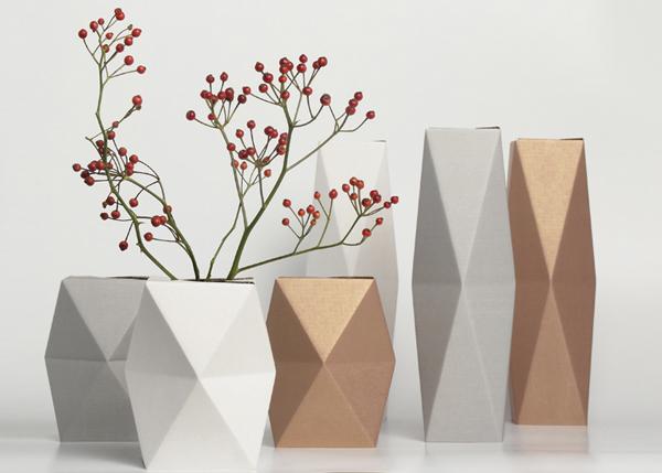 Snug.vase, el florero plegable de Snug.studio