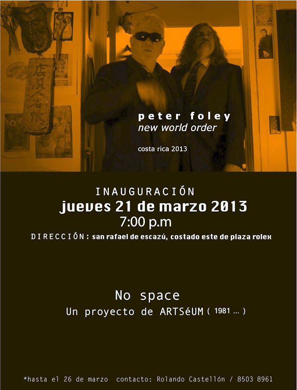 Peter Foley y Peter Halley en espacios adyacentes