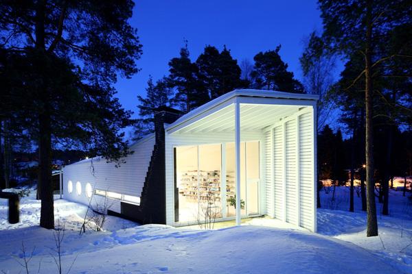 Apelle, una casa de madera en Finlandia, de Marco Casagrande
