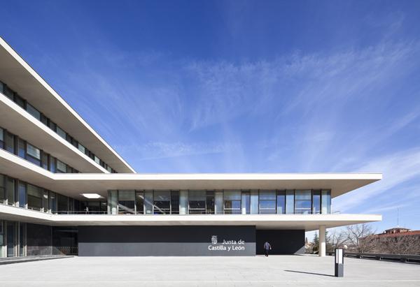 Sede de la Junta de Castilla y León en Salamanca, por Sánchez Gil Arquitectos