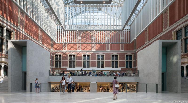 Cruz y Ortiz Arquitectos reforma el Rijksmuseum de Amsterdam
