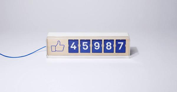 Facebook, el contador de likes de Smiirl