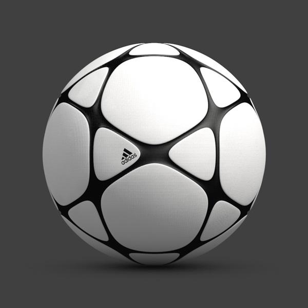 El balón de fútbol del diseñador Maxim Bykov