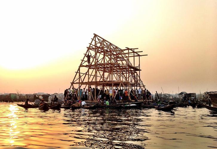 Escuela Flotate Makoko, NLÉ, 2013.