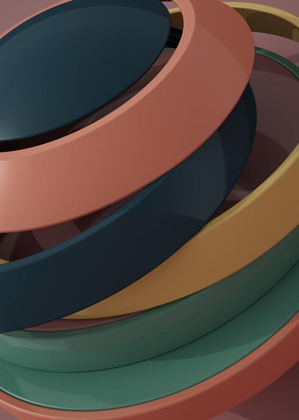 Los objetos 3D de Rizon Parein