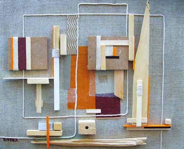Construcciones, de Carlos Rivera Lauria en la Galería Orfila