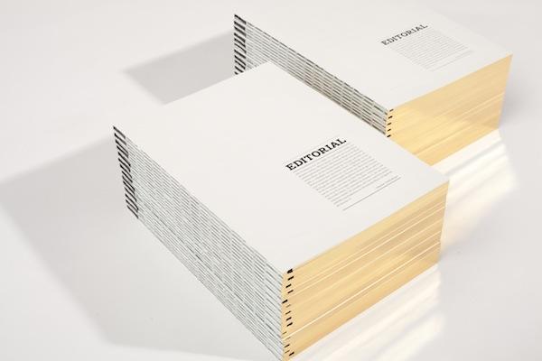 Komma 11, diseño editorial alemán de vanguardia