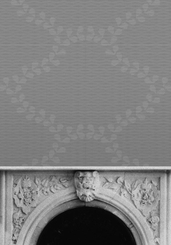 Mirage de Ionna Vautrin, un papel pintado que desvela una ilusión óptica