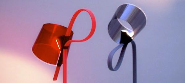 Rope Trick, lámpara de Stefan Diez para Wrong for Hay