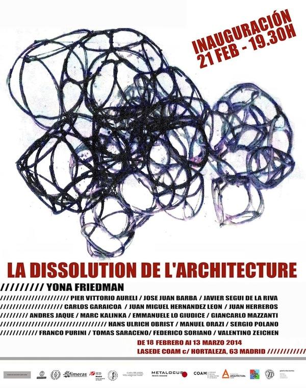 Exposición La dissolution de l'architecture. Yona Friedman
