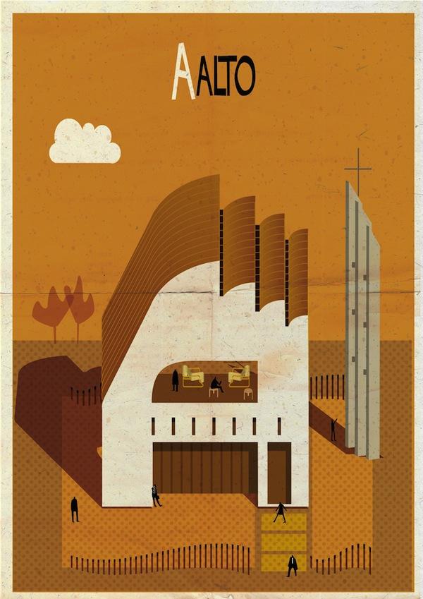 Archibet, el alfabeto arquitectónico de Federico Babina