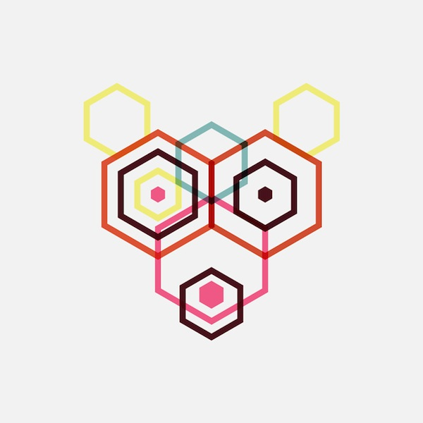 Hexagon Animals, de Maarten Deckers