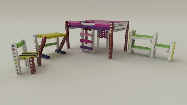 Olla, mobiliario para niños de Yvonne Otterstedt