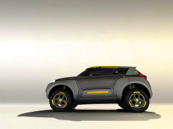 Kwid, el concept car de Renault que transporta un Drone volador