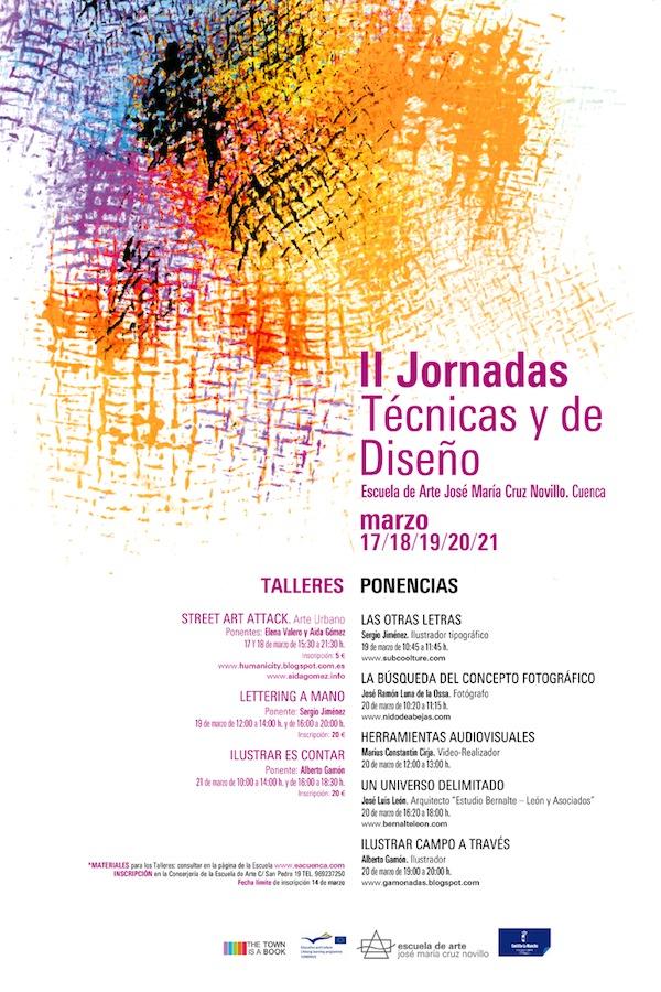 II Jornadas Técnicas y de Diseño, Escuela de Arte José María Cruz Novillo