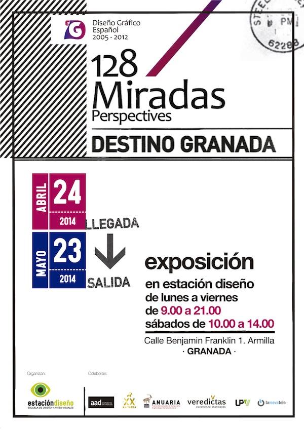 Exposición 128 Miradas en Granada