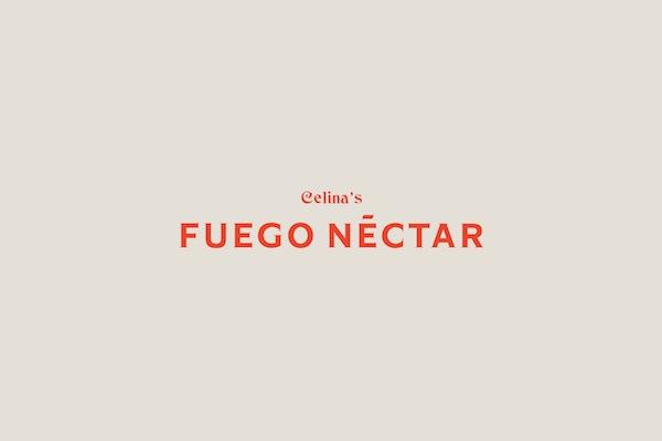 Identidad corporativa de Fuego Néctar, por Anagrama
