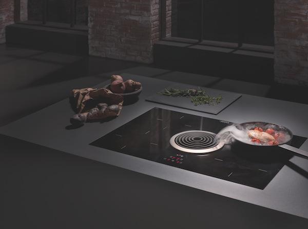Bora, el sistema extractor integrado en la placa de cocina