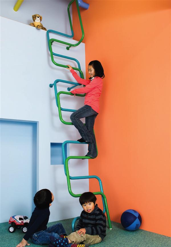 Kidslofty, escaleras infantiles para interiores japoneses