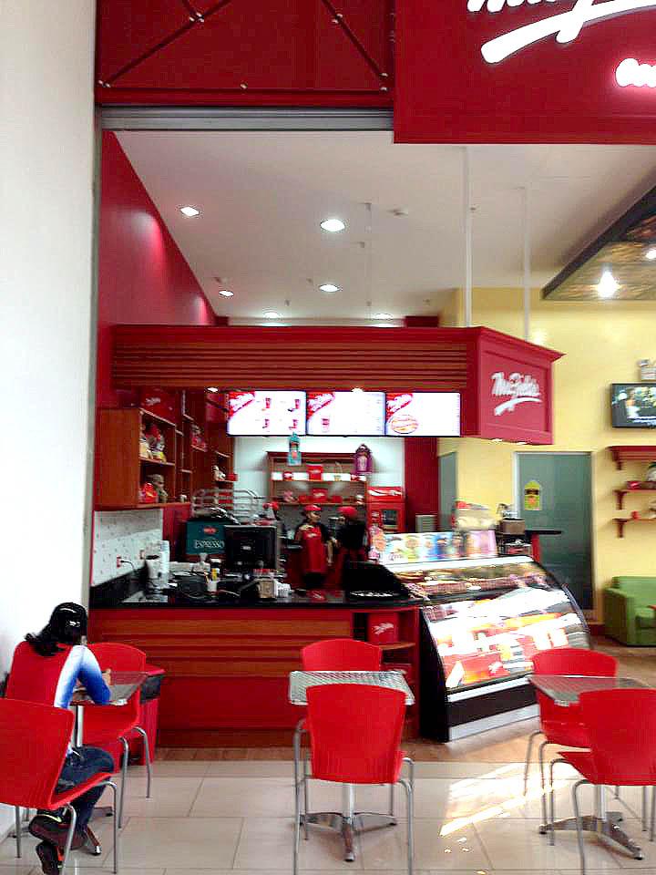 Diseñar una cafetería