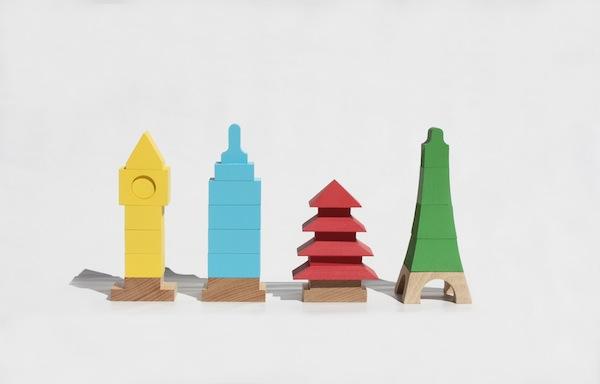 Miciti y Miworld, los juguetes arquitectónicos de Mitoi