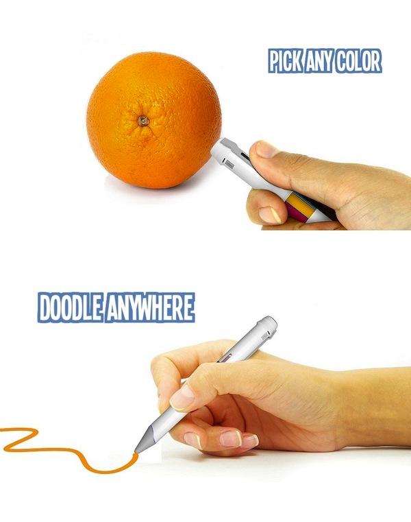 Scribble, el bolígrafo que escanea y elabora colores
