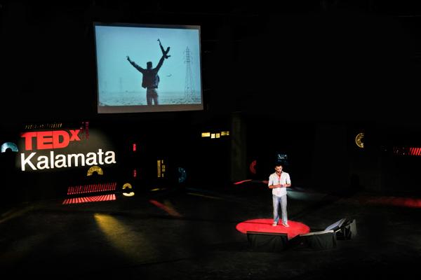 Identidad visual de Holy para TEDxKalamata