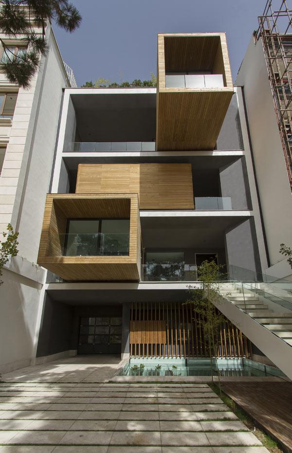 Sharifi-ha House, la casa rotatoria de Alireza Taghaboni
