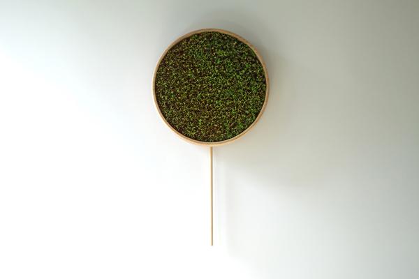 Coniferous Clock, el reloj de péndulo que se marchita