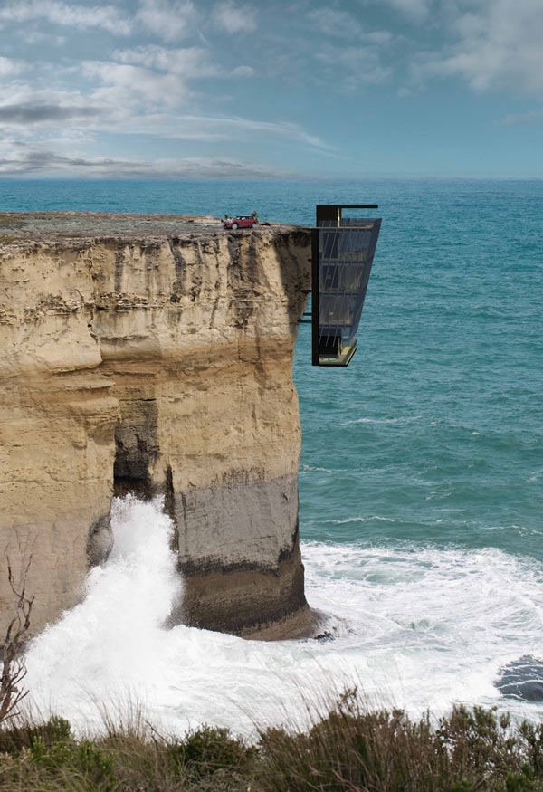 Cliff House, la casa-percebe de Modscape