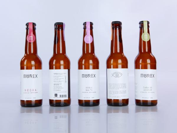 Habermas diseña el packaging de la cerveza Murex