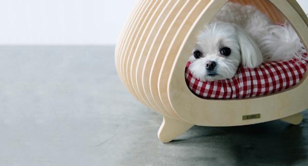 Fishbone, la caseta para mascotas de Sang nam-Park