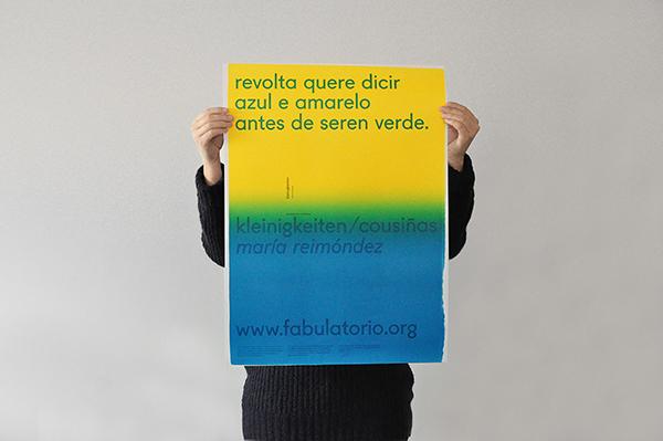 kleinigkeiten/cousiñas de María Reimóndez, por desescribir