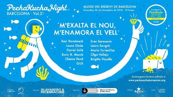 PechaKucha Night Barcelona Vol. 21