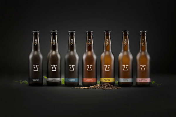 7 Fjell Brewery, identidad corporativa de Kind