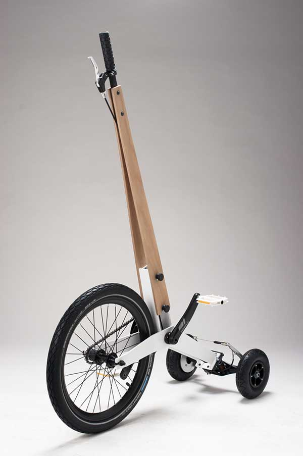 Halfbike, la bicicleta de Kolelinia