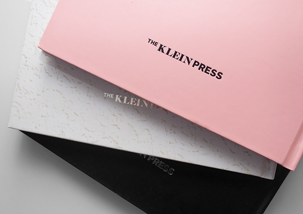 Identidad de The Klein Press, por Erre Gálvez