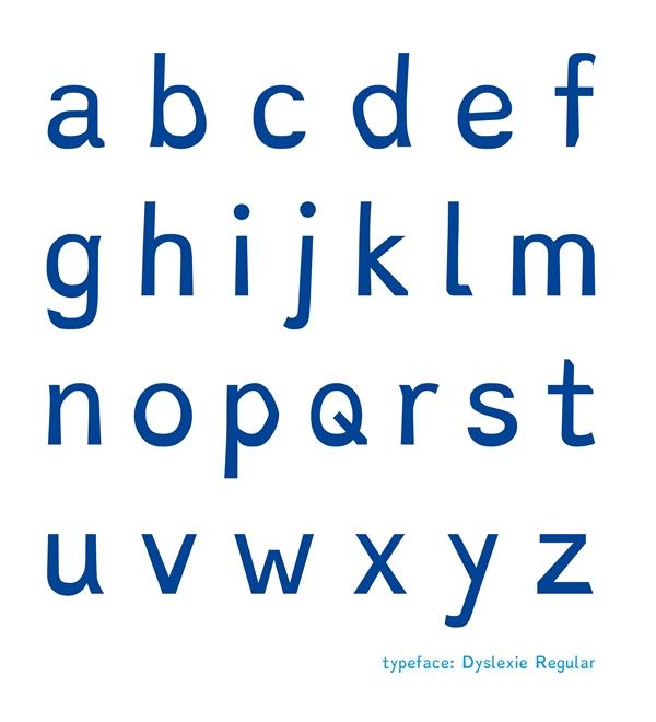 Tipografía Dyslexie, por Christian Boer