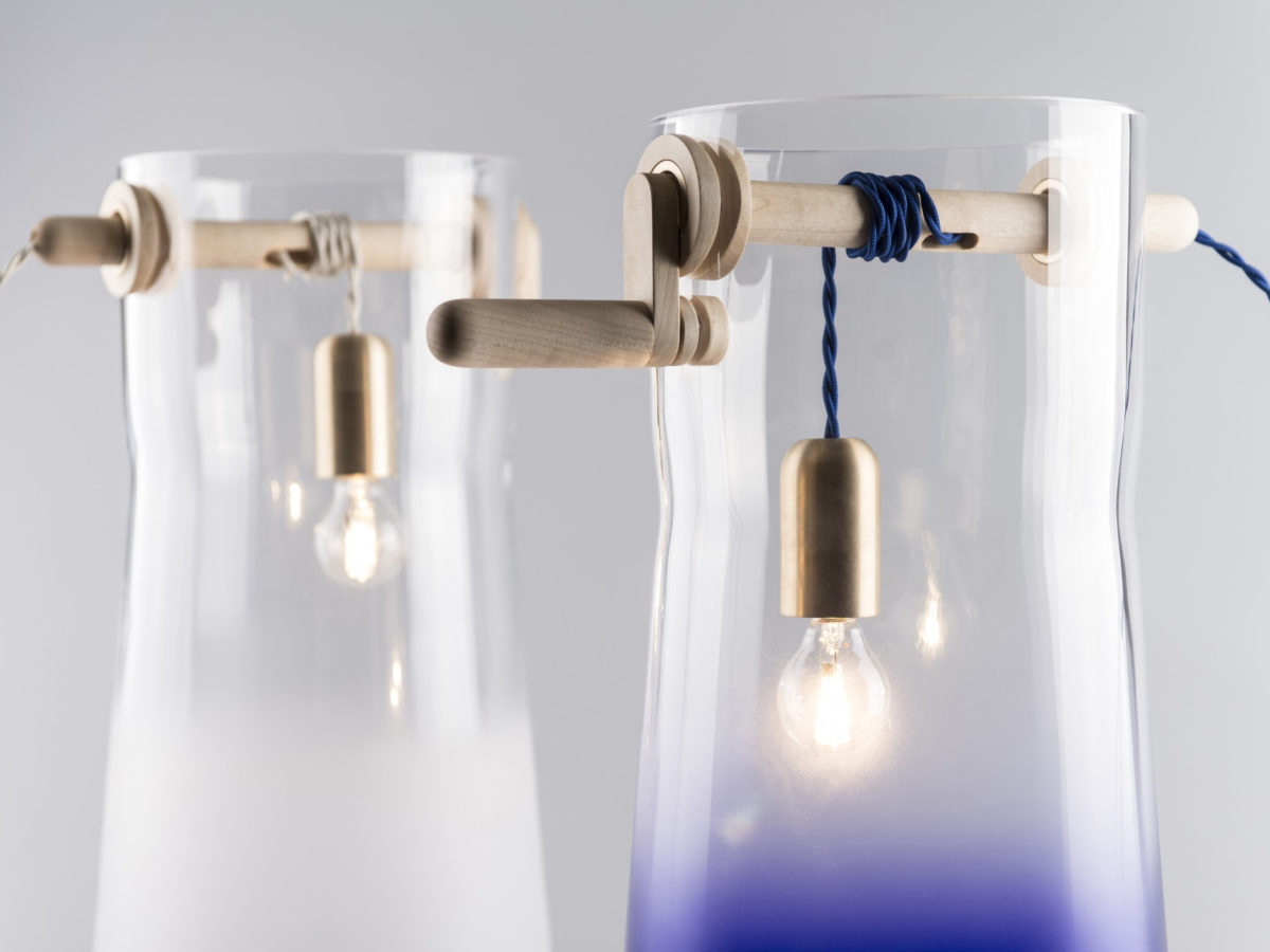 Well, el pozo de luz de MEJD. Diseño artesanal eslovaco