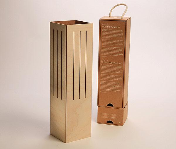 Cavallum, la caja de vino convertible en lámpara de Ciclus