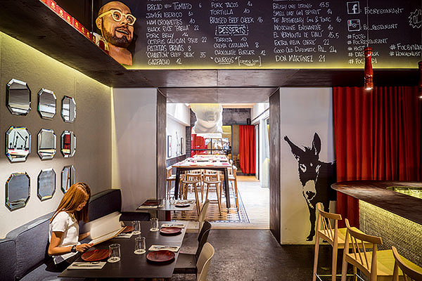 FOC, la cultura catalana hecha restaurante por Lagranja Design