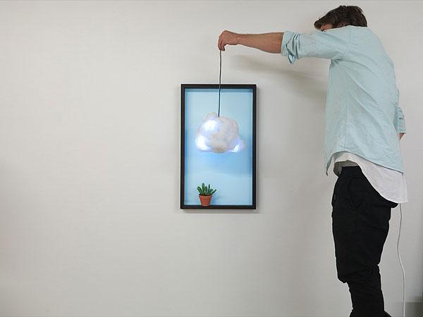 Tiny, la lámpara en forma de nube de Richard Clarkson Studio