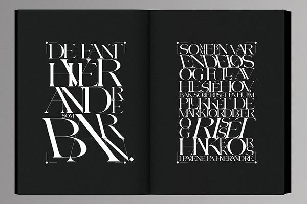 Diseño editorial de «Ord For Dagen: Mordknull», por Non-Format