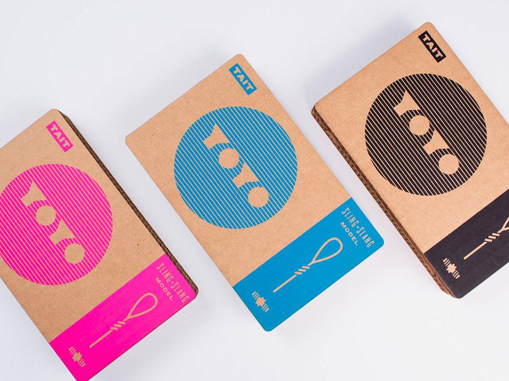 Sling-Slang, el yoyó de Tait Design Co. Diversión analógica