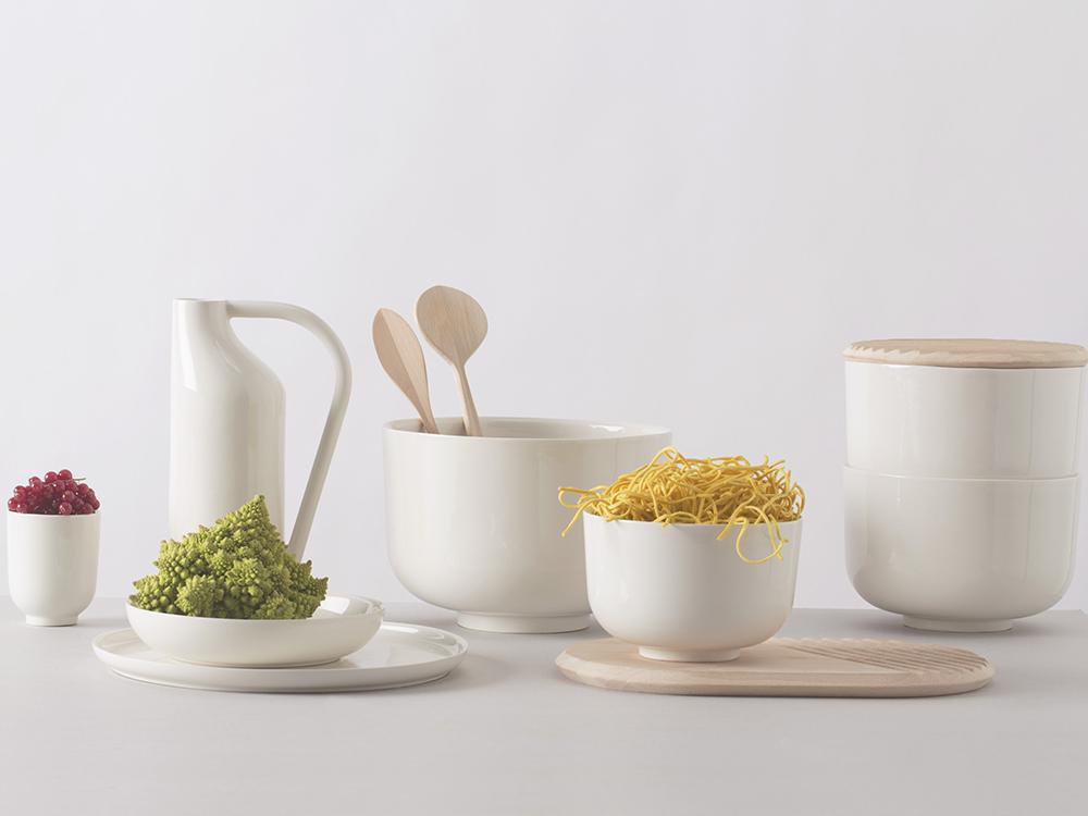 À Table, la delicada vajilla de Fabrica. Food design para Atipico