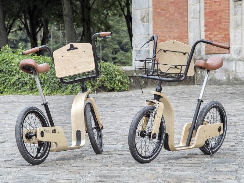 Noir Vif rescata la draisiana, antecesora de la bicicleta