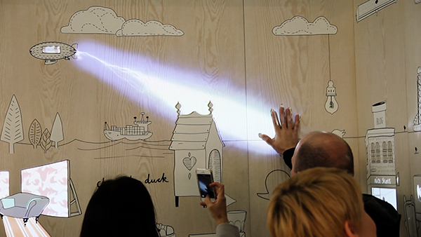 Animaciones interactivas en la Retail Design Expo