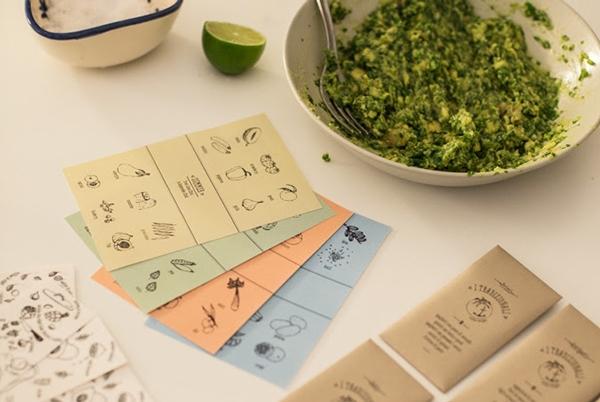 I tradizionali, recetas tatuables de Marina Cinciripini y Sarah Richiuso