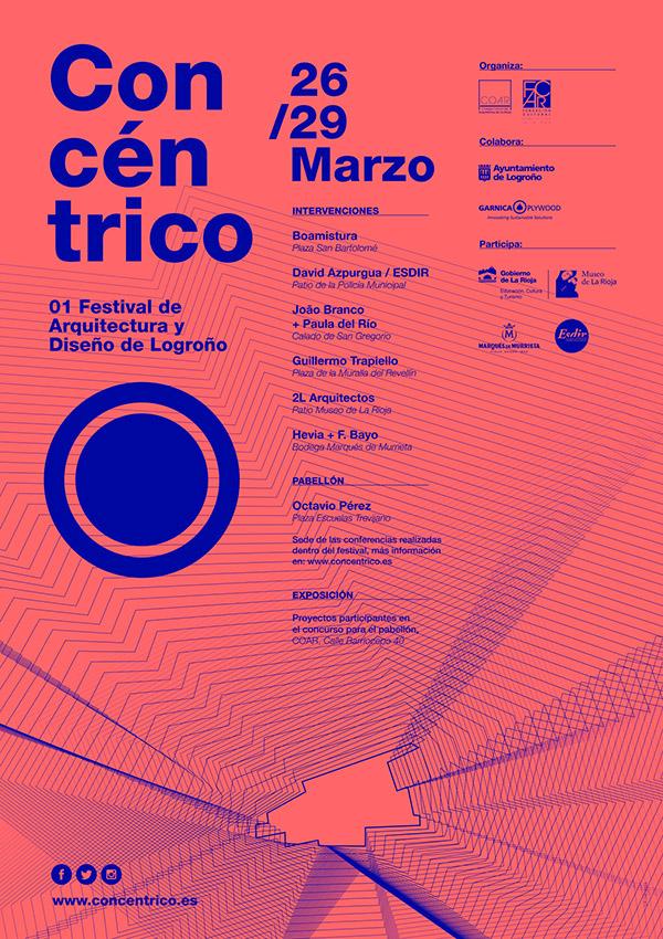 Concéntrico, 01 Festival de Arquitectura y Diseño de Logroño