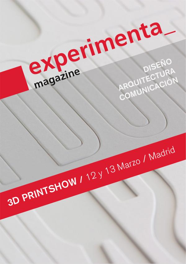 Experimenta en la 3D Printshow Madrid 2015